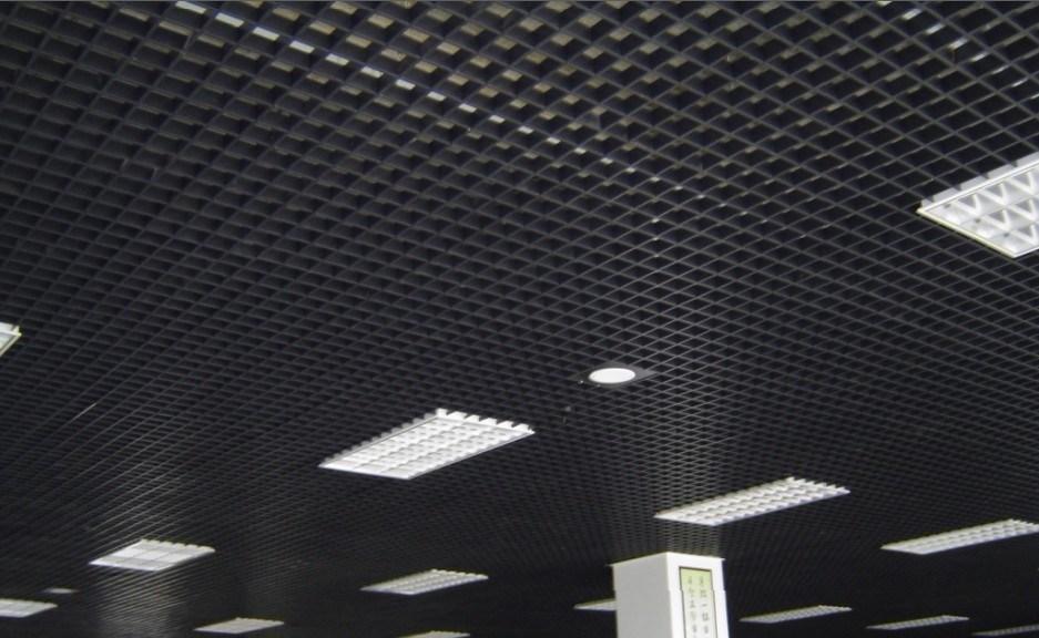 Plafond suspendu de cellules plafond suspendu de cellules for Modele plafond suspendu