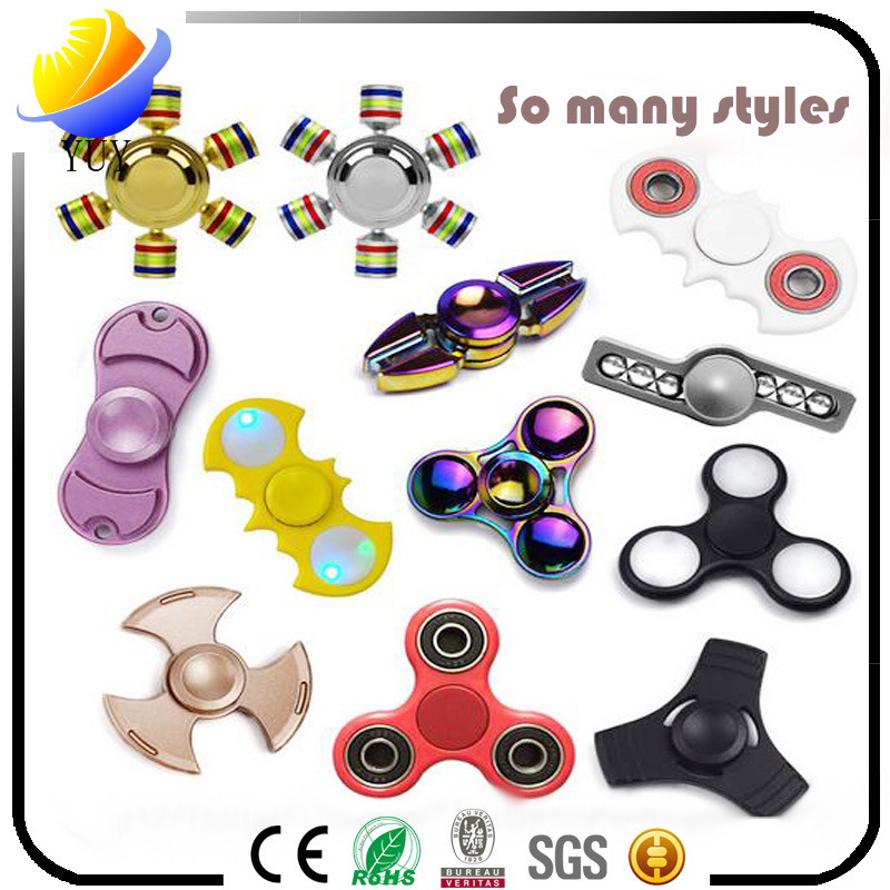 High Speed EDC Relieve Stress Hand Spinner and Fidget Spinner and Finger Spinner and Fingertip Gyro for Promotional Toys