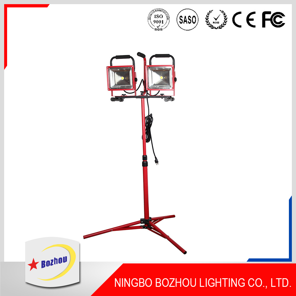 2*30W Outdoor Detachable Rechargeable LED Work Light
