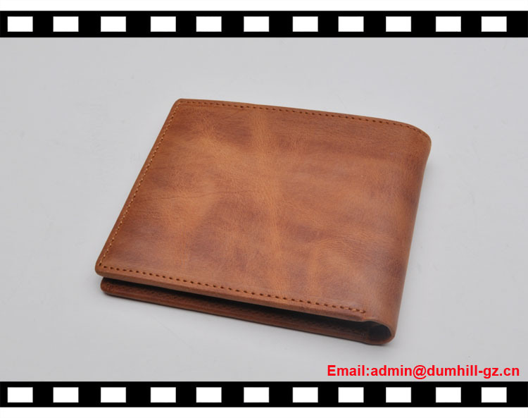 Casual Leather Credit Card RFID Blocking Wallets