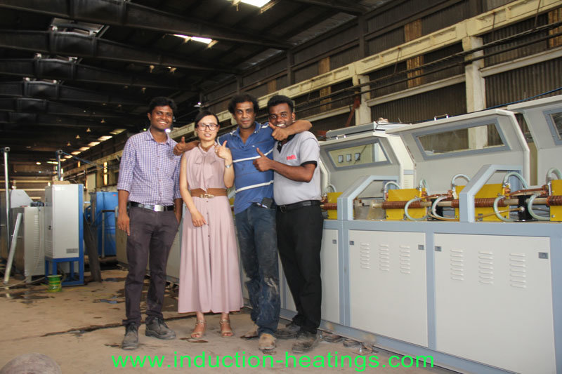 300kw Super Audio Frequency Induction Heating Annealing Furnace for Wire Rebar