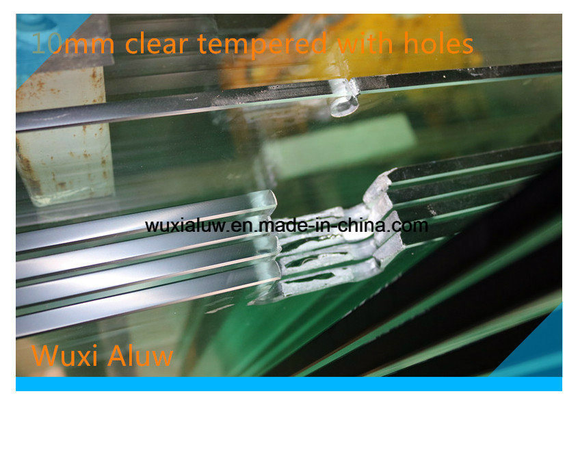 Cheap Clear Tempered Door Glass