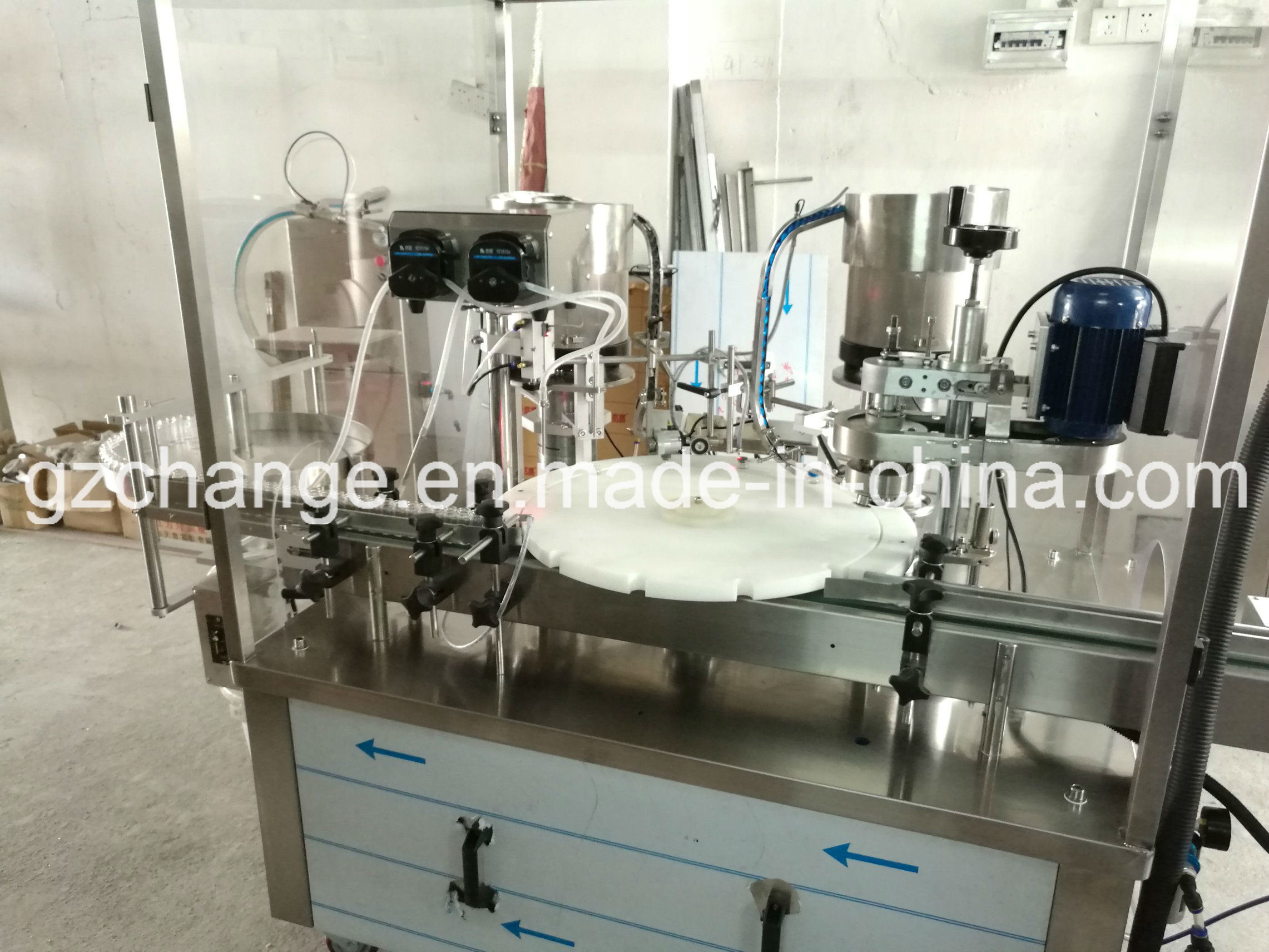 Pahrmacy Essential Oil Liquid Medicine Filling Capping Machine