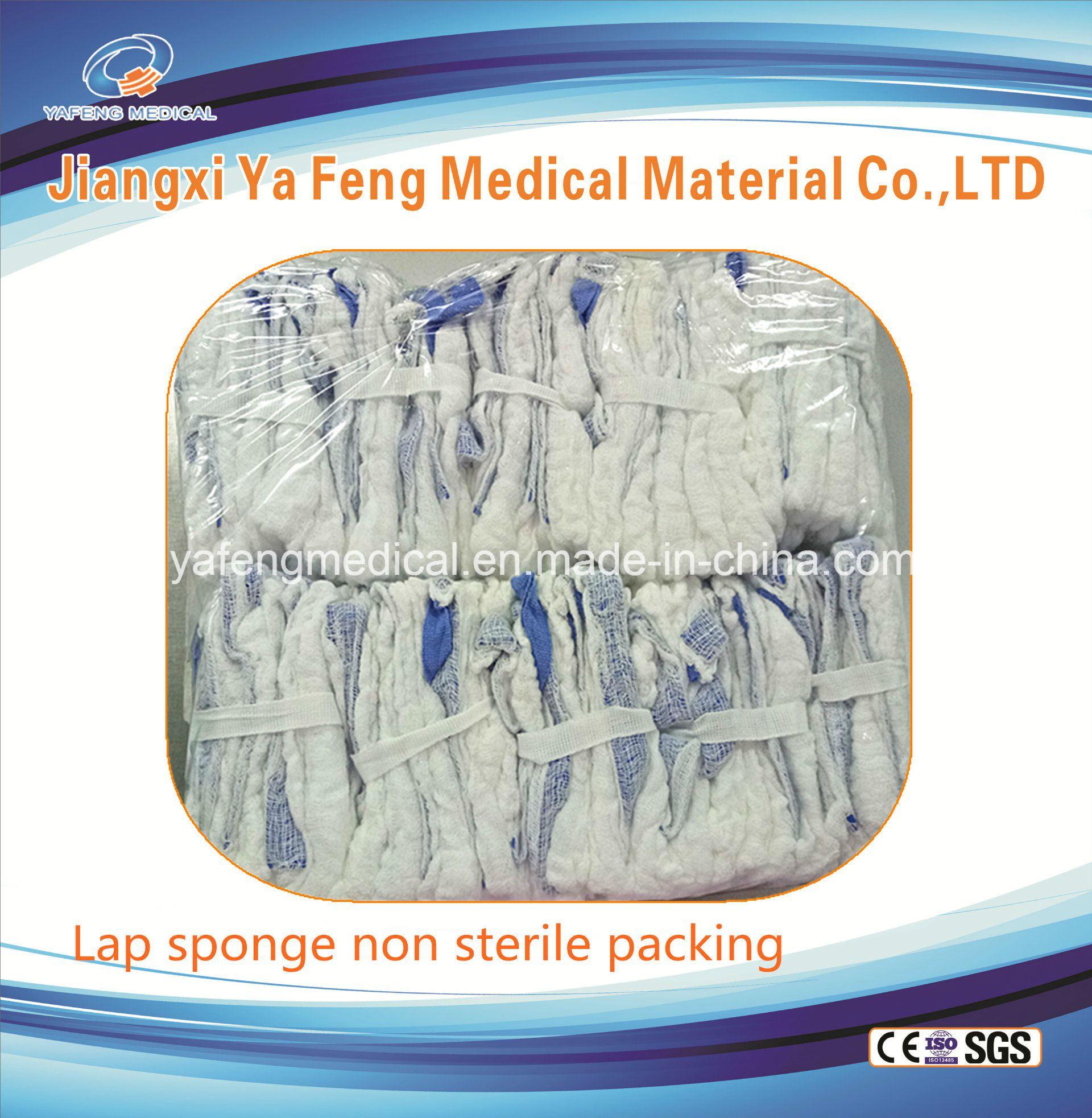 Prewashed Gauze Lap Sponge (sterile or non sterile)