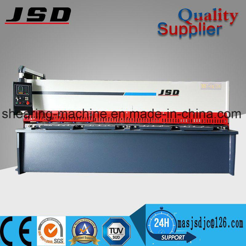Maanshan High Quality QC12y Hydraulic CNC Cutting Machine