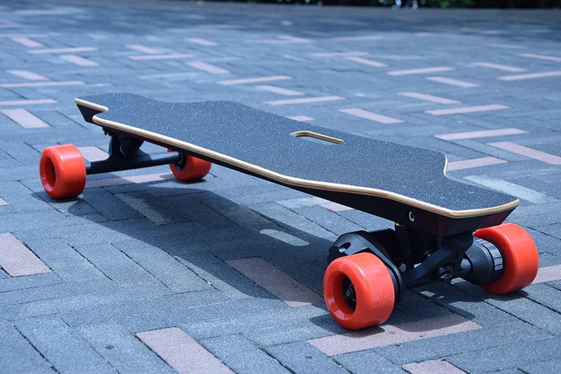400W E Wheel Skateboard with 2.2ah Lithium