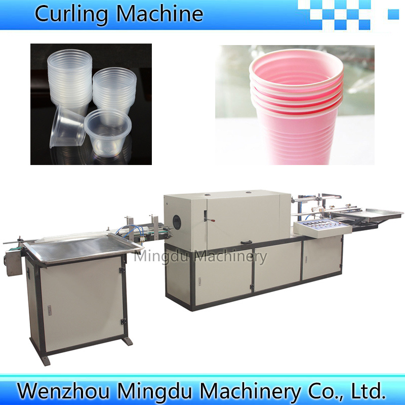 Cup Lip Rolling Machine with High Speed