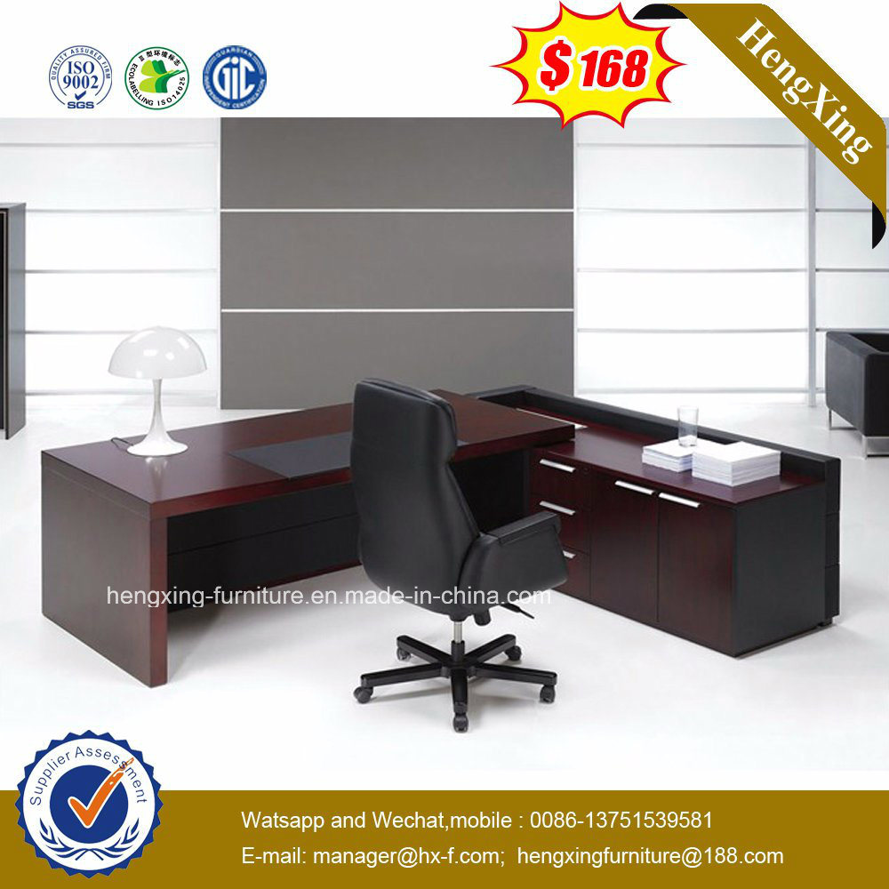 Solid Wood Office Table Designs Executive Office Furniture (HX-G0195)