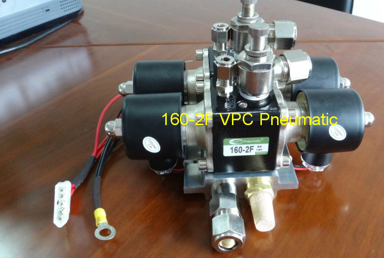 "NPT 1/4"" Vu4 4-Corner Brass Solenoid Valve Unit Air Suspension Manifold Airmaxxx"