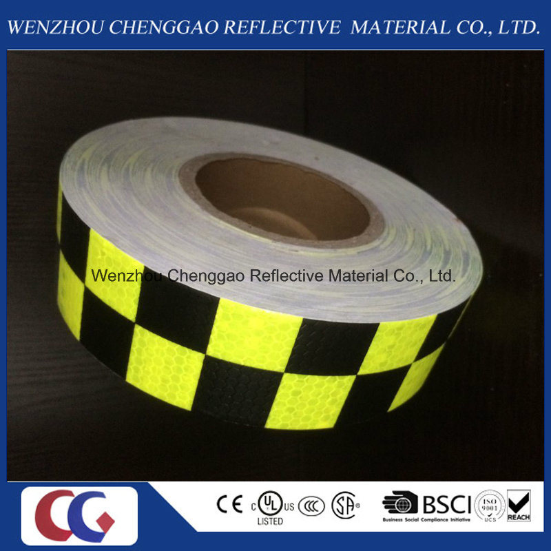 Grid Designs Warning Reflective Luminescent Material Tape