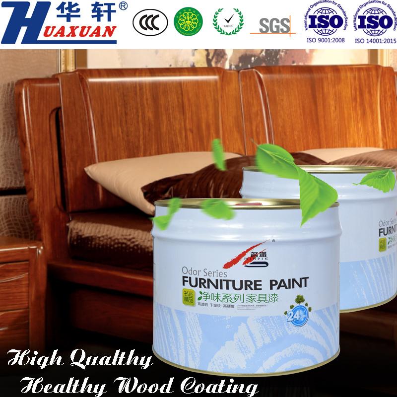 Huaxuan PU Air Clean Transparent Primer Wooden Furniture Paint