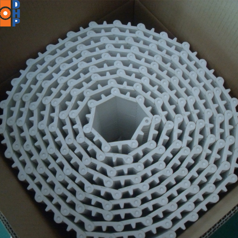 Hj800 Plastic Flat Top Modular Conveyor Belt