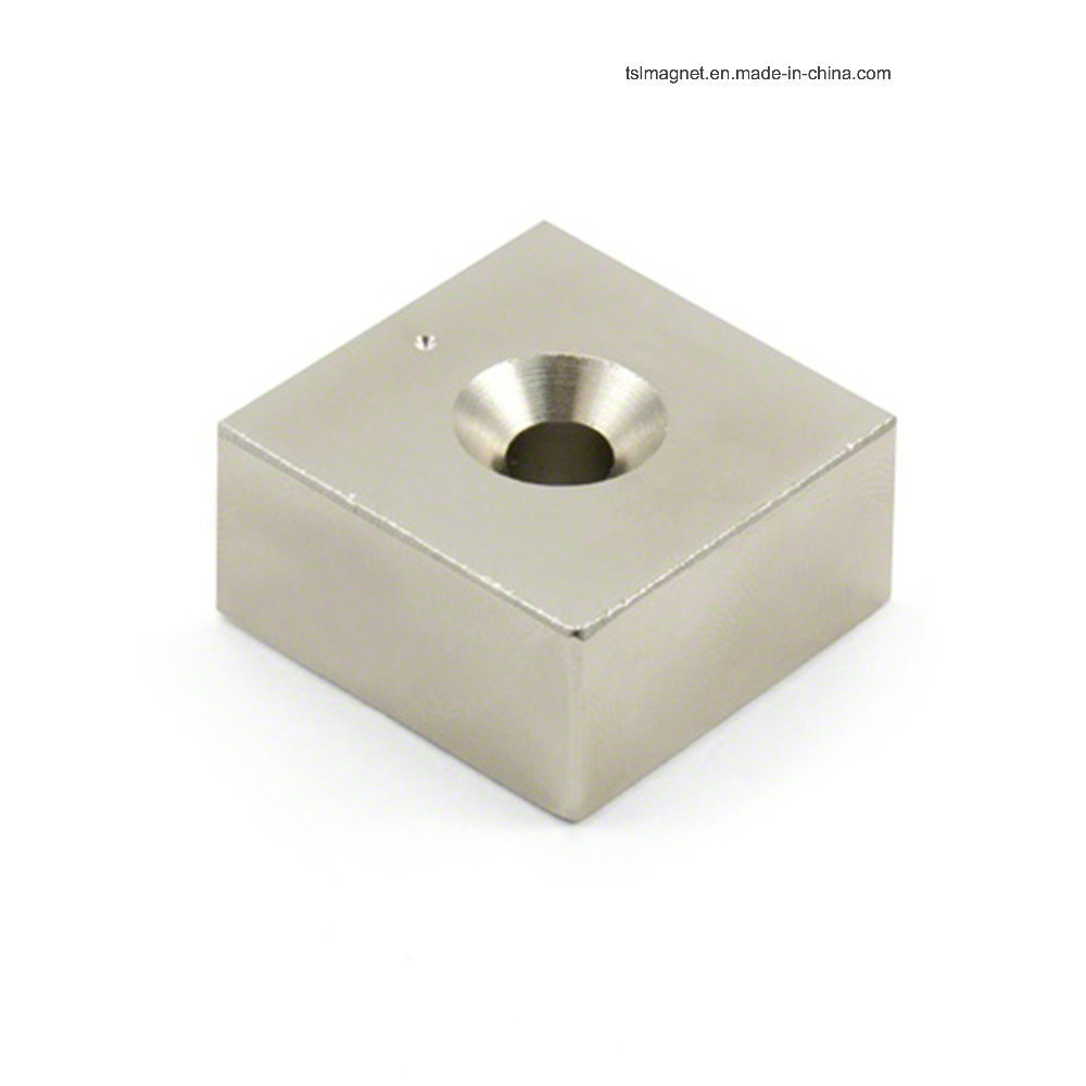 Block Permanent Sintered NdFeB Magnet for Moto