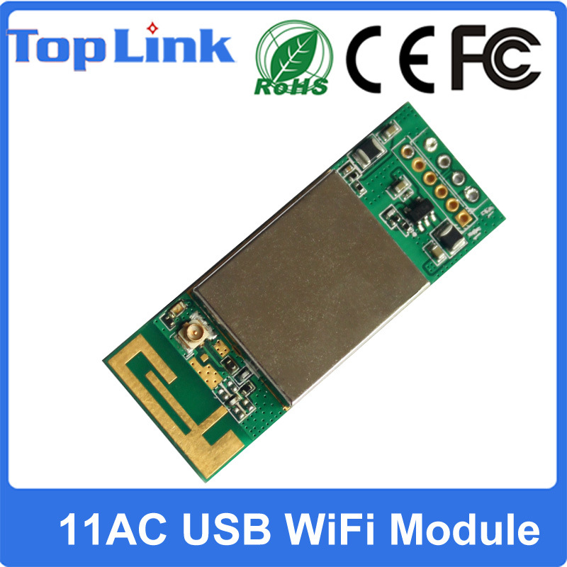 433Mbps Embedded 11AC 2.4G+5g Dual Band USB WiFi Module