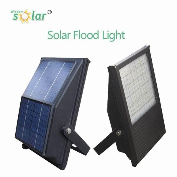 2016 All in One Portable Solar Powered LED Flood Light/Outdoor LED Solar Flood Light
