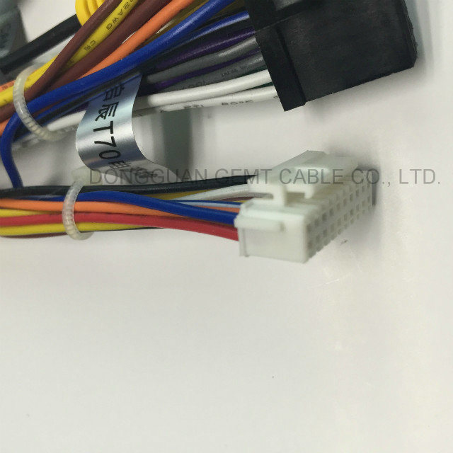 Wiring Harness Custom Cable OEM ODM Assembly Motorcycle Application Harness