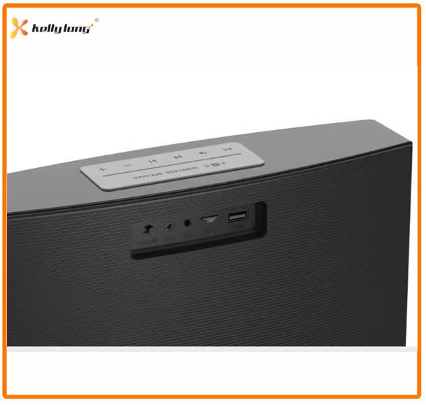 Mini Portable Wireless Stereo Clock Bluetooth Speaker