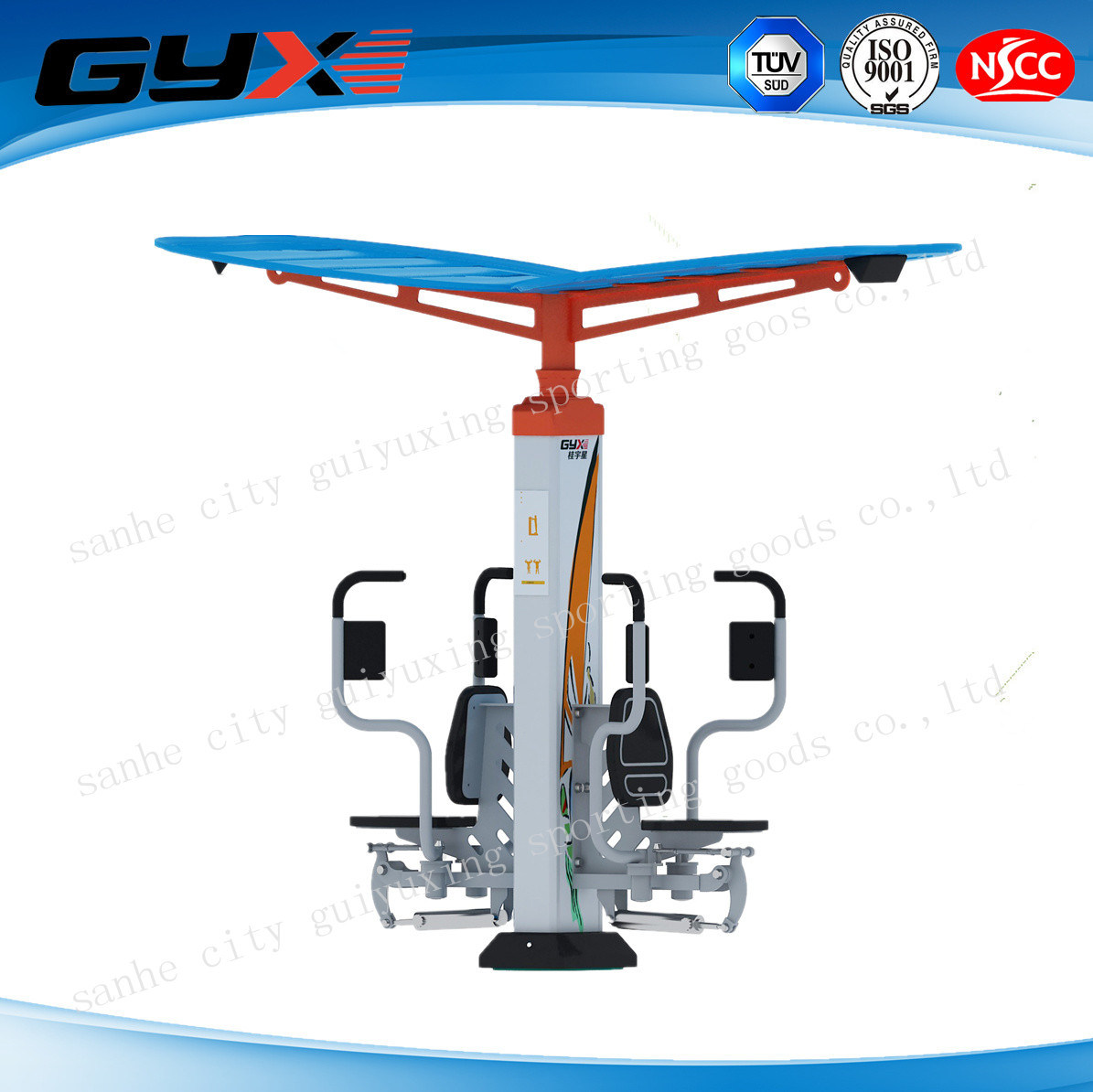 Outdoor Gym Equipment of Chest Press