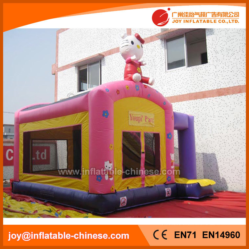 Kitty Inflatable Jumping Bouncer Slide Combo Bouncy Castle (T3-102)