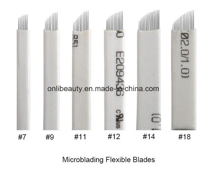 50 PCS Eo Gas Sterilized Nanostroking Needle Blades