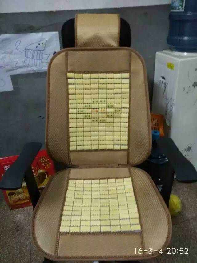 Promotional Cool Bamboo Car Seat Cushion Cover