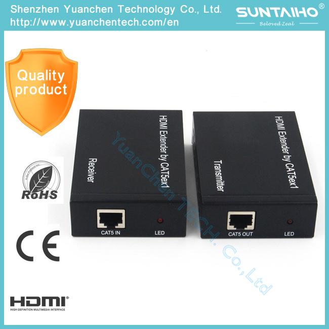 1080P Over Cat5e/CAT6 (TCP/IP) 1.4V HDMI Extender