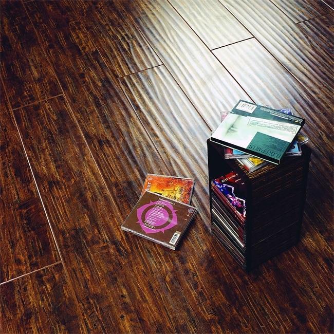 12.3mm Handscraped Suraface V-Groove Laminate Flooring