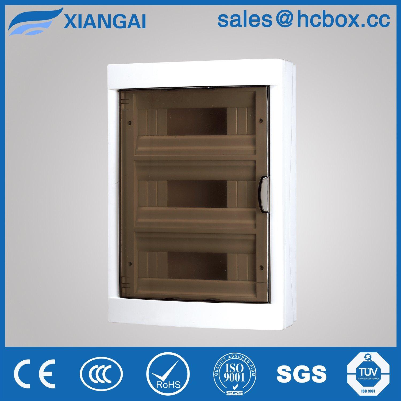Hc-Ls 36ways Distribution Box Plastic Enclosure Switch Box