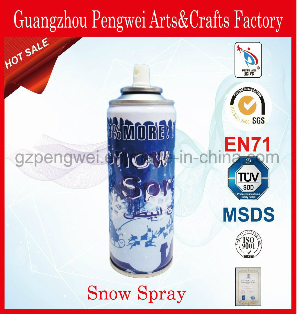 250ml Bear Canned Artificial Snow for Christmas Decoration