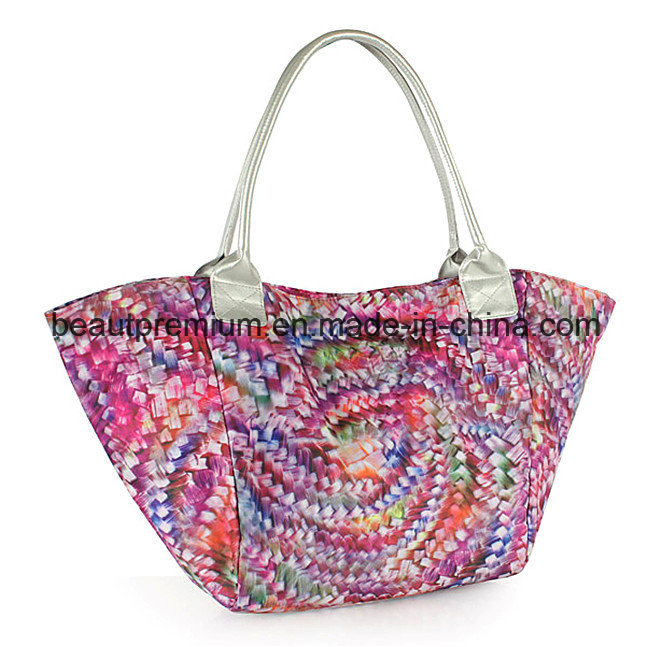 Composite Cloth Printing Handbag Fashion Colorful High-Capacity Ladies Handbag BPS041