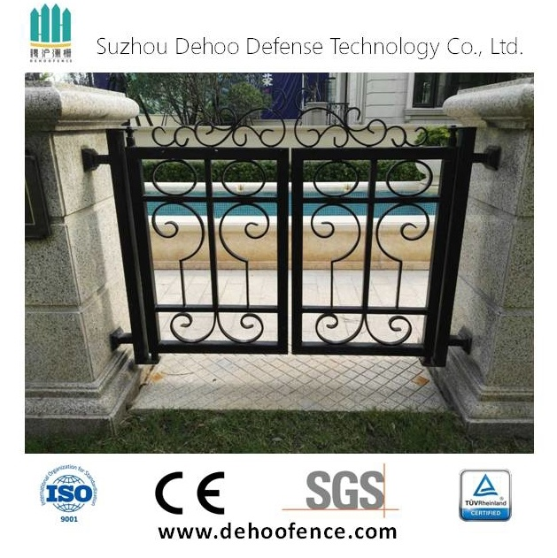 Epoxy Power Coating Galvanized Iron Welded Gate & Fencing