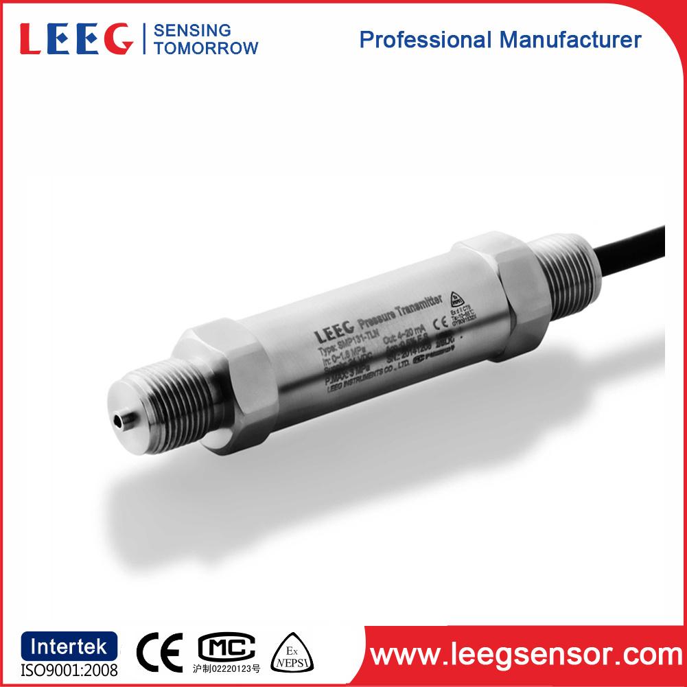 China 4...20mA Piezoresistive Pressure Sensor for Liquid, Steam, Gas