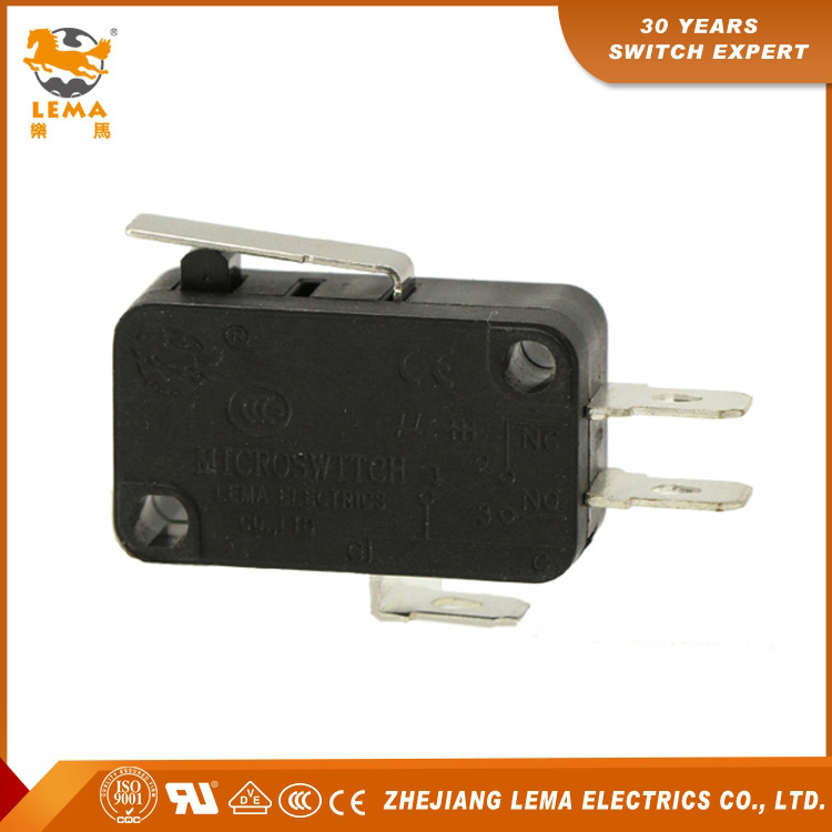 Customized Kw7-11 UL Approved Snap Action Lever Micro Switch