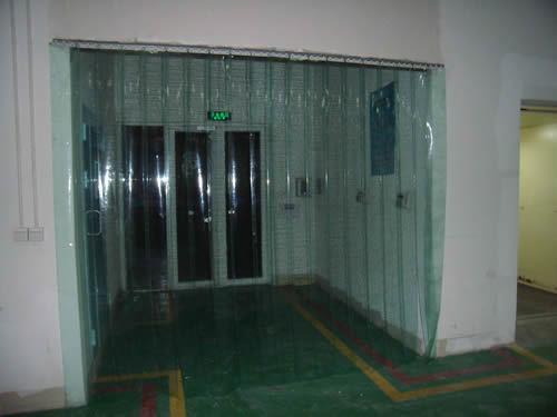 Door PVC Curtain in Low Temperature