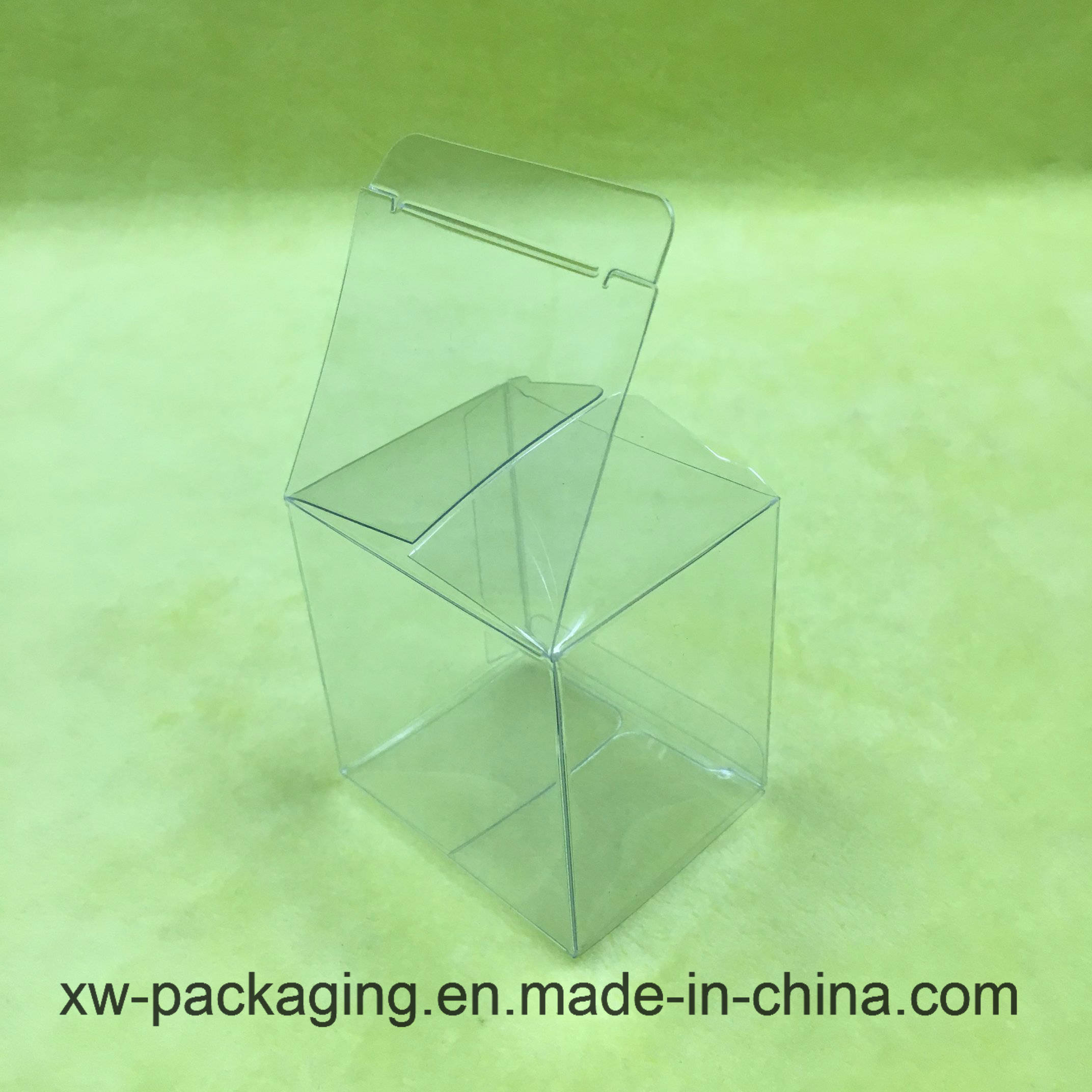Custom Transparent Plastic Folding Box for Toy Products