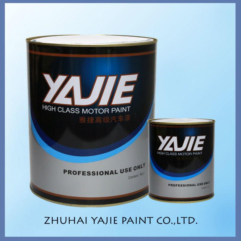 Car Refinish Metallic Silver Automotive Paint