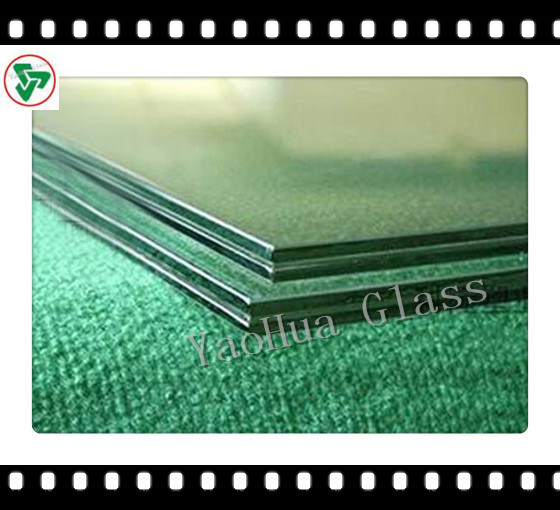 4-43.20mm Safety Tempered Laminated Building Glass