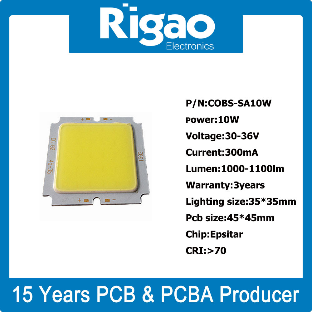 Square COB LED PCB for LED Downlight