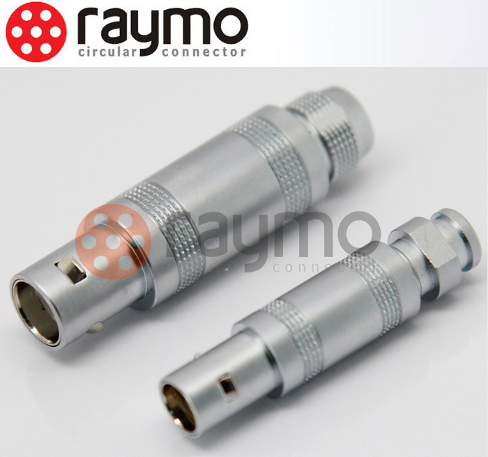 Half Moon S Series Male Female Plug Circular Push Pull Connector for Medical Device