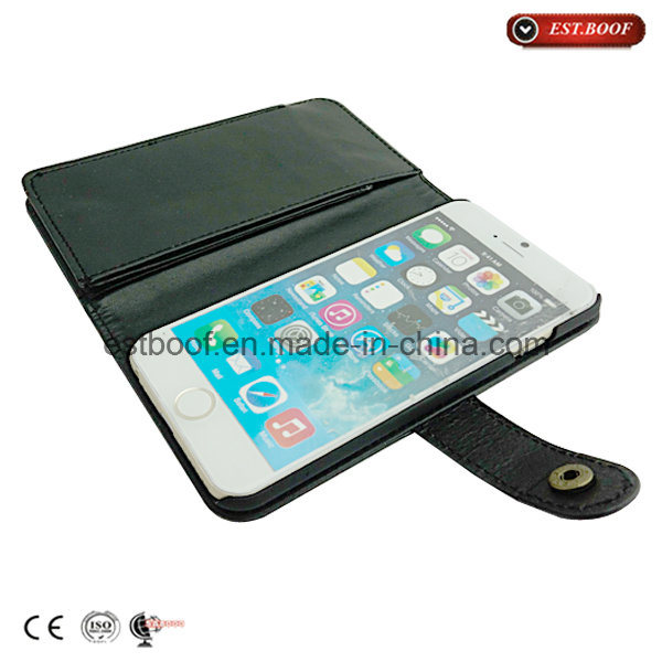 Genuine Leather Wallet Flip Mobile Phone Accessories