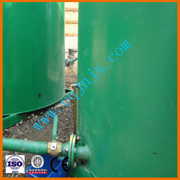 Waste Tire Oil Recycling Pyrolysis Plant Equipment