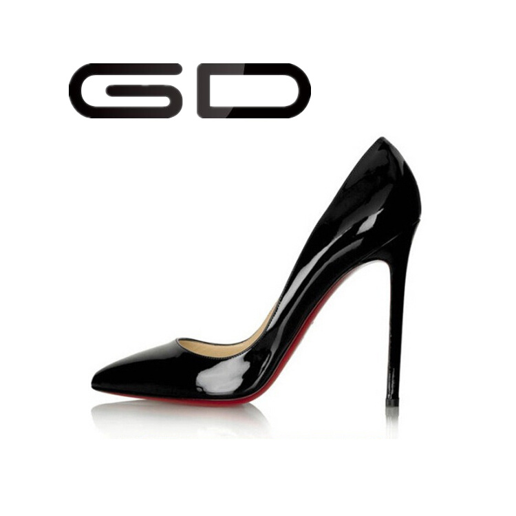 Custom Made Women Red Bottom High Heel Shoes