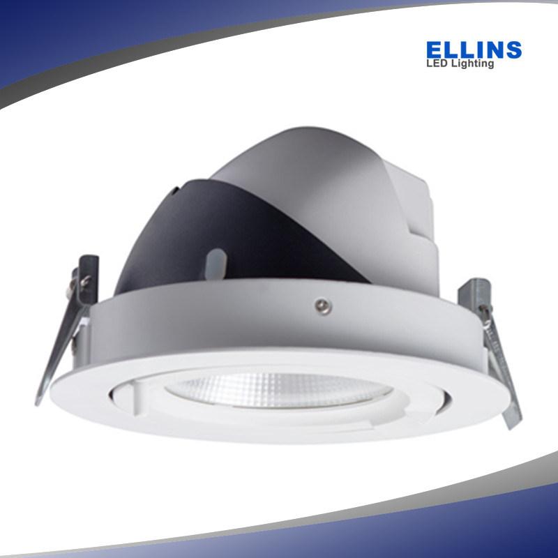 Adjustable Gimbal CREE 30W Dimmable COB LED Downlight Lifud Driver