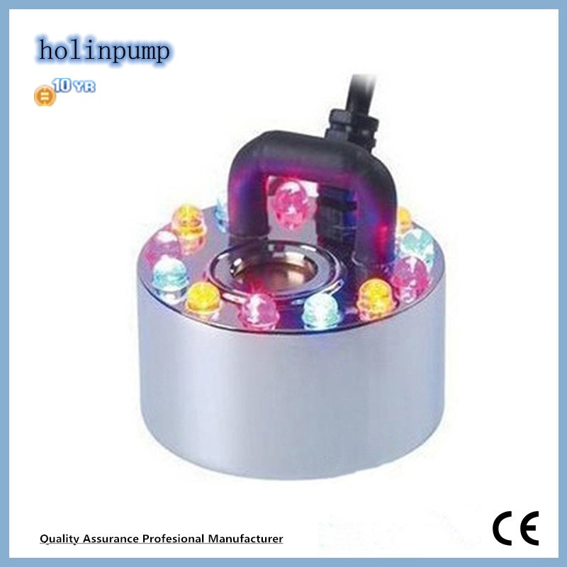 Mist Lamp Ultrasonic Tabletop Humidifiers Ventilator Fogger Mist Maker (Hl-MMS007)