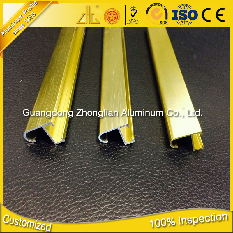6063 T5 Aluminium Extrusion Wholesalers Aluminum Frame for Pictures