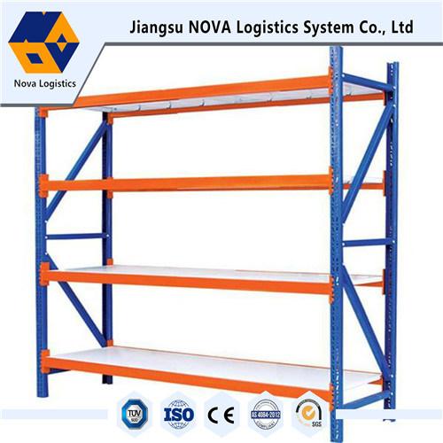 Medium Duty Steel Long Span Rack with Steel Shelving