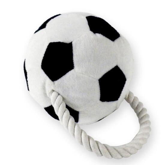 Pet Plush Toy Football Style Dog Rope Toy (KB0026)