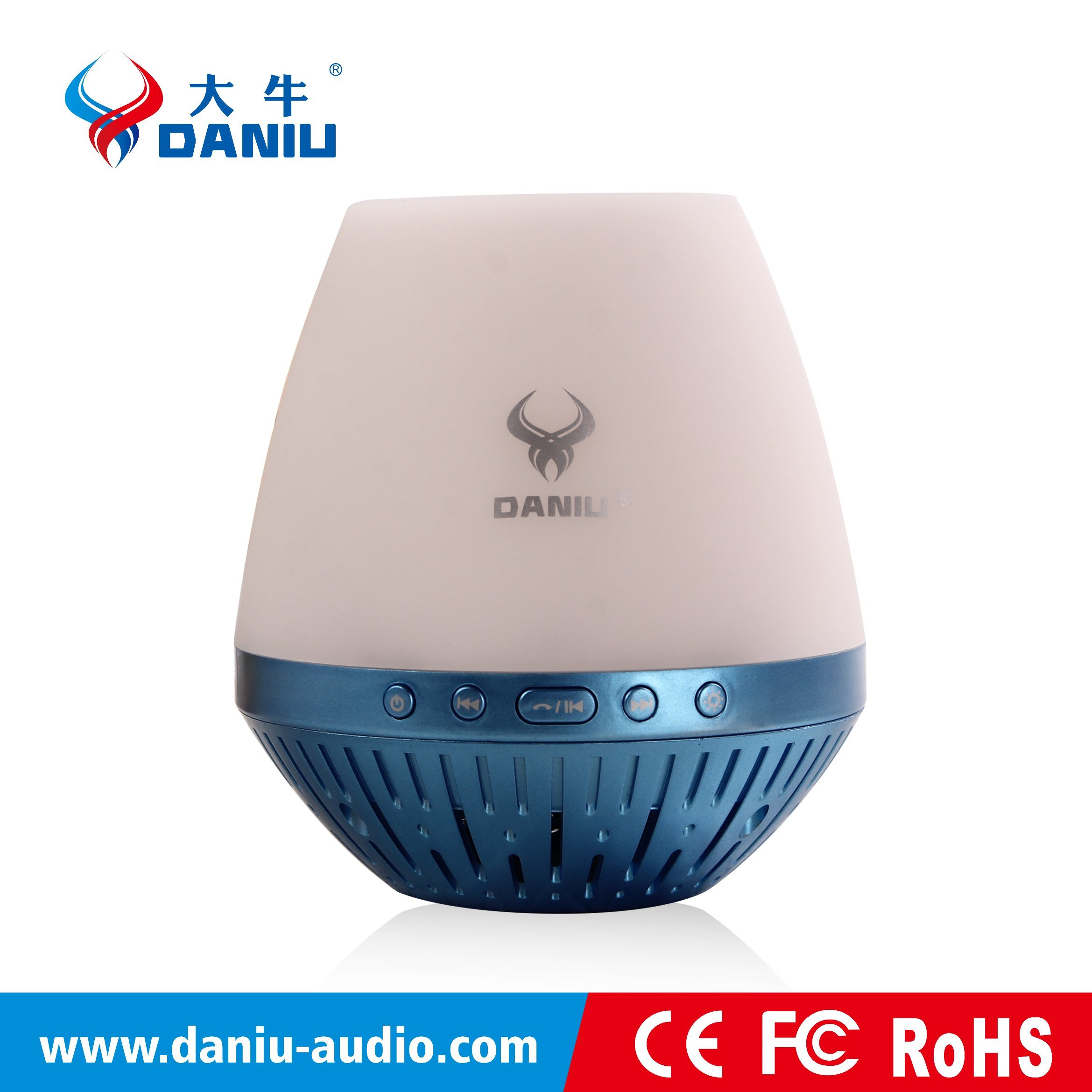 Best Selling Bluetooth Speaker with LED Light Support TF Card Music