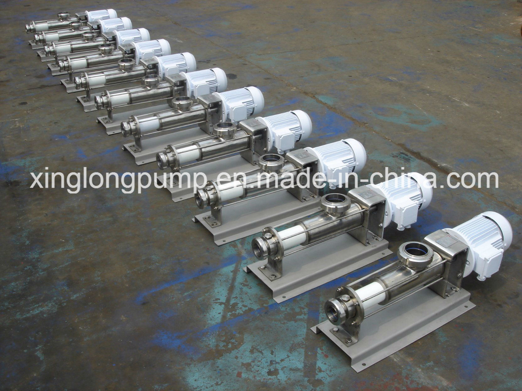 Eccentric Rotor Single Screw Pump