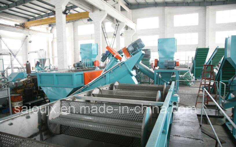 Waste Pet Plastic Crushing Washing Machine Line